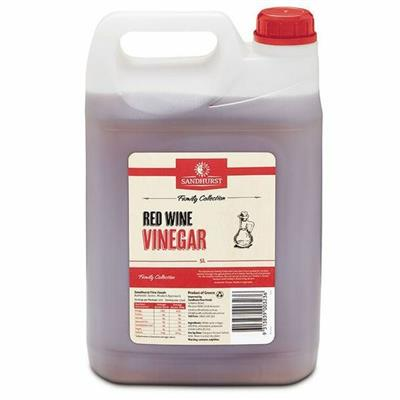 VINEGAR RED WINE 5LT
