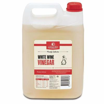 VINEGAR WHITE WINE 5LT